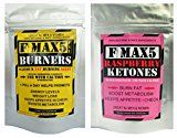 Max Fat Burner Capsules Plus Raspberry Ketones Combo - Strongest Slimming Weight Loss Diet Pills - 1 Month supply of each - https://www.trolleytrends.com/?p=552569