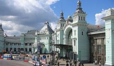 Moscow Belorussky railway station, also known as Moscow Smolenskaya railway station (Russian: Москва́-Смоле́нская, Moskva-Smolenskaya), is one... Get more information about the Moscow Belorussky railway station on Hostelman.com #attraction #Russia #landmark #travel #destinations #tips #packing #ideas #budget #trips