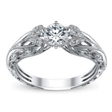 Ideal ring, love how intricate the details are on the band..