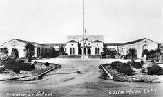 Costa Mesa Grammar School by Orange County Archives, via Flickr.