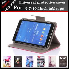 Fashion universal Cartoon pattern Stand case For 10inch call phone Tablet PC,9.7 inch Universal Tablet Case for kids girls  #Affiliate