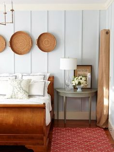 """COTTAGE  """"Wall Perks"""" Use Painted Panels in Quintessential Cottage Decor"""