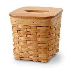 longaberger tall tissue basket | Tall Tissue Basket with WoodCrafts Lid