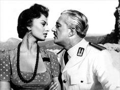 Pan, Amor y… (Dino Risi - 1955) Vittorio De Sica y Sofia Loren