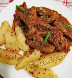 Creamy Roast Chicken recipe by Sumayah posted on 18 Feb 2019 . Recipe has a rating of by 1 members and the recipe belongs in the Chicken recipes category Roast Chicken Recipes, Marinated Chicken, Chicken Spices, Butter Chicken, Yummy Treats, Yummy Food, Wing Recipes, Food Categories, Chicken Wings