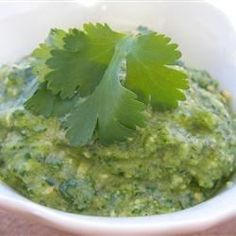 """Cilantro Chili-Lime Cashew Pesto I """"Tasty, unique & simple pesto.Brushed it on beef kabobs with tasty results."""""""