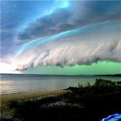 Weather front, Michigan