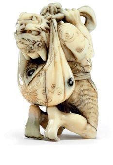 Ivory, Edo Period