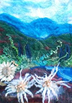 Be inspired while looking at Healy&Burke's Original Fine Art Felt pieces here at their online Gallery