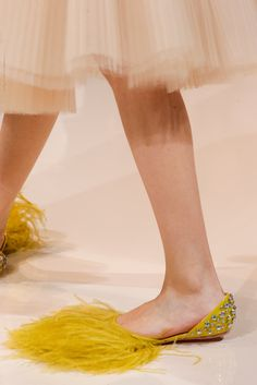 Because Big Bird belongs on your feet. http://www.manrepeller.com/2015/05/celebrities-wore-flats-to-cannes-film-festival-red-carpet.html
