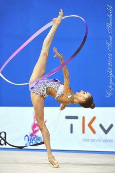 Beautiful Maria Titova - Rhythmic Gymnastics