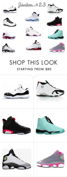 """""""Jordan's"""" by nosaj14 ❤ liked on Polyvore featuring Concord, Retrò, NIKE and Freaker"""