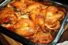 Kurczak pieczony na ryżu Wielokrotnie widywałam podobne przepisy z kurczakiem na ryżu ,na portalach kulinarnych , aż w końcu postanowiłam wypróbować . Nie żaden konkretny , ale własną wersję , Read More ...