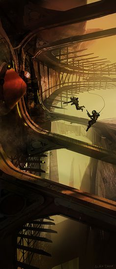 Alex Chin Yu Chu is a concept artist who's worked on titles like Tomb Raider: Anniversary Edition and Tomb Raider: Underworld. More recently he's been working on Halo: Reach and Destiny with Bungie.