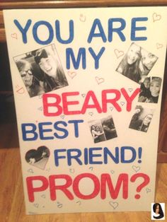 Best ways to ask a friend to prom. Proposal Ideas dance Best ways to ask a friend to prom. Best ways to ask a friend to prom. Best ways to ask a friend to prom. Proposal Ideas dance Best ways to ask a friend to prom. Best ways to Cute Homecoming Proposals, Formal Proposals, Hoco Proposals, Homecoming Pictures, Graduation Pictures, Bffs, Dance Proposal, Proposal Ideas, Prom Invites
