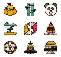 Choose among packs of free vector icons Mini Drawings, Small Drawings, Easy Drawings, Vector Icons, Vector Art, Chinese Icon, Easy Pixel Art, Wings Icon, Dibujos Cute