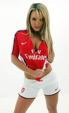 Arsenal football girl