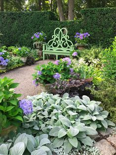 Ode to Newport 2: The Parterre Bench Garden Yard Ideas, Garden Projects, Garden Landscaping, Garden Gate, Garden Cottage, Home And Garden, Landscape Design, Garden Design, Garden Furniture