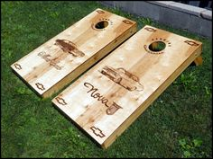 Cornhole Game Board Dimensions Corn Hole Game, Cornhole Boards, Bamboo Cutting Board, Woodworking Projects, Board Games, Tabletop Games, Woodworking Crafts, Table Games, Wood Carving