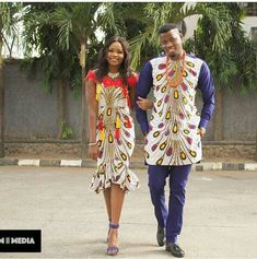 Hello guys, welcome to another edition of our African Print Styles Collection. Today we are looking at Mr & Mrs - our couple African Print Styles compilation. African Print Fashion, Africa Fashion, African Fashion Dresses, Fashion Prints, African Outfits, Fashion Styles, Ankara Fashion, Ghana Fashion, African Clothes
