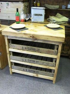 #Retail display shelves made from potato chitting trays http://www.wbc.co.uk/original-wooden-chitting-trays?sc=2=80780