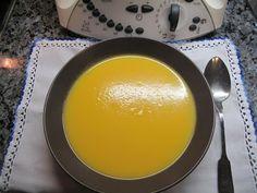 A Bimby cá de casa: Sopa de Cenoura