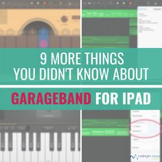 66 Best Garageband images in 2018 | Music, Music Education, Music