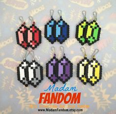 ZELDA RUPEE Party Favors, Set of 12, Video Game Wedding Favors, Zipper Pulls Keychain Fobs Charms Goodie Bag Tags, Legend of Zelda
