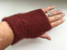 Your place to buy and sell all things handmade Fingerless Gloves Knitted, Downy, November 2015, Stockinette, 2 Ply, Arm Warmers, Knits, Knit Crochet, Shops