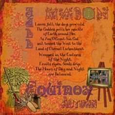 Mabon Prayer