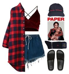 """""""RAPLH"""" by mikaylaperrine ❤ liked on Polyvore featuring Chloé, Melissa, Polo Ralph Lauren and Jeremy Scott"""