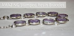 Amazing Mold Putty: Make an AMAZING Stamped Resin Bracelet... by Brenda Lee Burfeind
