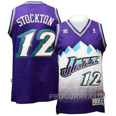 f4dbe8a2c John Stockton Utah Jazz  12 Blue Mountains Jersey