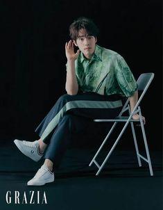Kim Jung Hyun Delivers His Brand of Sexy in May 2020 Bazaar Korea and Grazia Pictorials Kim Joong Hyun, Jung Hyun, Kim Jung, Asian Actors, Korean Actors, Drama School, Weightlifting Fairy Kim Bok Joo, Kdrama Actors, Korean Celebrities