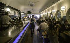 interior del restaurante tipo diner americano