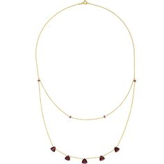 Fantastic trilliant cut garnets sparkle mysteriously in a deep and rich crimson colour on this fine gold vermeil necklace. Garnet Necklace, Pendant Necklace, How To Look Classy, Gold Plating, Minimalist Design, Natural Beauty, Sparkle, Necklaces, Deep