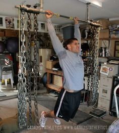 The kipping pull-up as practiced in CrossFit, its uses, its dangers, and how to best do kipping pull-ups in crossfit.