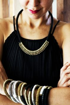 Henriette Botha necklace and bangles! Fall Collections, Jewelry Design, Bling, Jewels, How To Wear, Bangles, Fashion Design, Jewellery, Beads