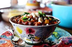 Veggie Chili! Tremendously tasty.