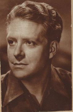 A vintage magazine snip of Nelson Eddy. Oh Nelson, those sad eyes! - ESCANO COLLECTION