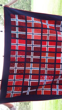 Flag Quilt, Quilt Blocks, Norwegian Flag, Traditional Quilts, Barn Quilts, Quilt Making, Norway, Quilting, Sewing