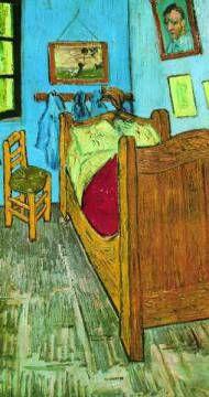 Post Card: Vincent van Gogh, The Artist's Bedroom at Arles