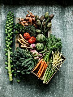 vegetables by Linda Lundgren