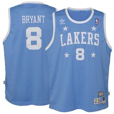 652ed6194e1a Kobe Bryant Los Angeles Lakers adidas Youth Hardwood Classics Soul Jersey -  Blue