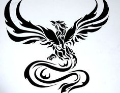 tatouage phoenix dessin idée tatouage bras homme femme