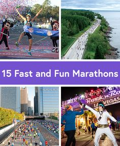 "15 Fun, Fast and Beginner-Friendly Marathons: While we don't believe running 26.2 miles anywhere can really be called ""easy,"" these 15 U.S. marathons are especially good for those ready to take that first step. From big city races to small rural routes, there's something for everyone here to ensure a positive and memorable first marathon experience."