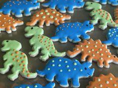 dino cookies!!!
