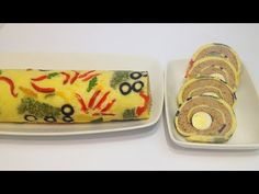 (25) РУЛЕТ ПЕЧЁНОЧНЫЙ , ЗАКУСОЧНЫЙ (liver roll, snack bar) - YouTube Butter Dish, Sushi, Appetizers, Snacks, Dishes, Meat, Ethnic Recipes, Impreza, Philadelphia