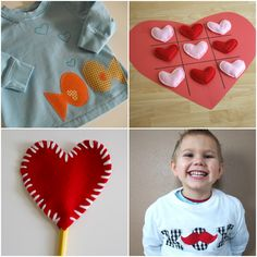 25 Valentine's Day Gifts to sew for your little guy...