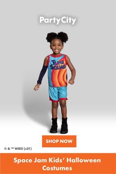 Shop now for all your kids Halloween costumes at Party City. Tune Squad, Kids Suits, Space Jam, Halloween Costumes For Kids, Shop Now, Party, Fun, Shopping, Halloween Costumes For Children